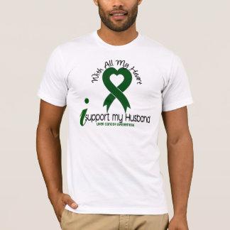 CÁNCER de HÍGADO apoyo a mi marido Camiseta