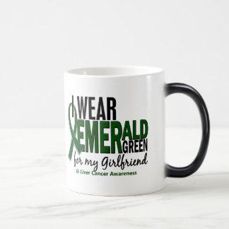 Cáncer de hígado llevo el verde esmeralda para mi taza mágica