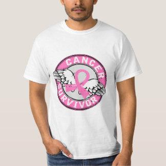 Cáncer de pecho del superviviente 14 camiseta