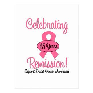 Cáncer de pecho remisión de 15 años postal