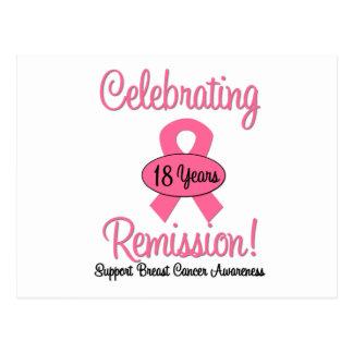 Cáncer de pecho remisión de 18 años postales
