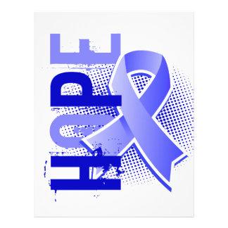 Cáncer de próstata de la esperanza 2 folleto 21,6 x 28 cm