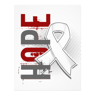 Cáncer de pulmón de la esperanza 2 folleto 21,6 x 28 cm