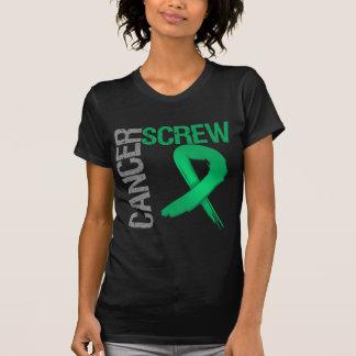 Cáncer del tornillo - cáncer de hígado camiseta