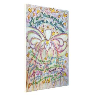 Cáncer ninguna pintura del arte de la lona del áng impresión en lienzo estirada