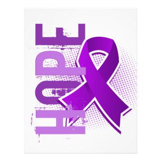 Cáncer pancreático de la esperanza 2 folleto 21,6 x 28 cm