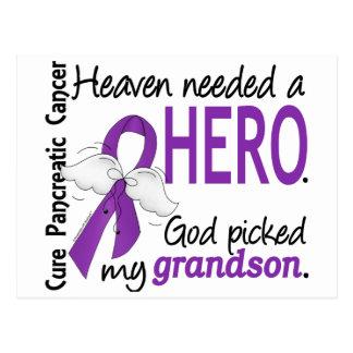 Cáncer pancreático del nieto necesario del héroe postal