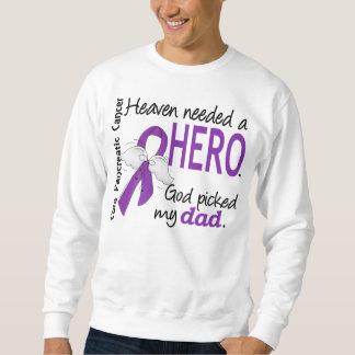 Cáncer pancreático del papá necesario del héroe sudadera
