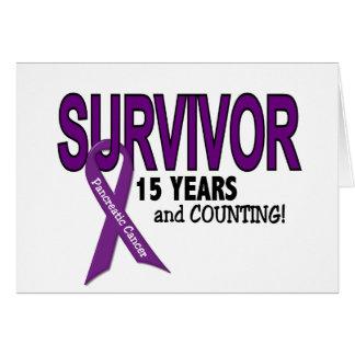 Cáncer pancreático SUPERVIVIENTE de 15 AÑOS Felicitación