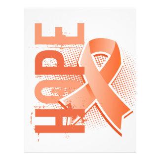 Cáncer uterino de la esperanza 2 folleto 21,6 x 28 cm