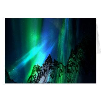 Canción de las montañas tarjeta de felicitación