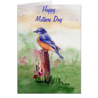 Canción del Bluebird Tarjeta De Felicitación