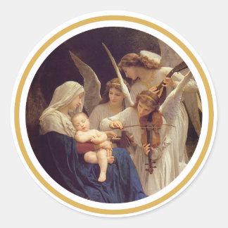Canción del pegatina de los ángeles
