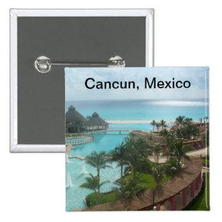 Cancun México Chapa Cuadrada