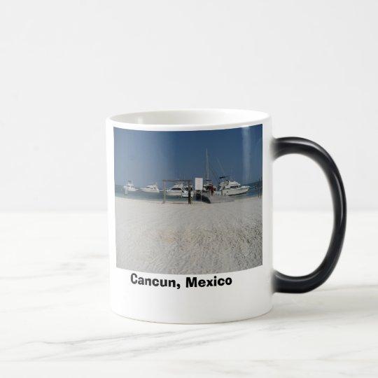 Cancun, México Taza Mágica