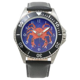 Cangrejo de Dungeness - el reloj de los hombres