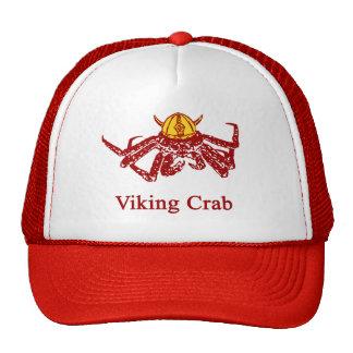 Cangrejo de Viking Gorras De Camionero