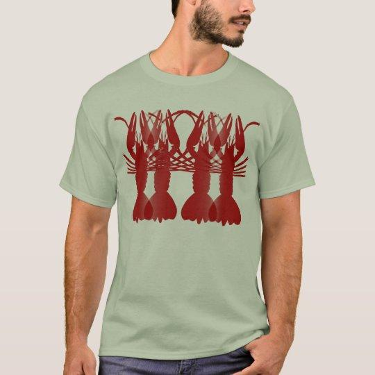 Cangrejos (hervidos) camiseta