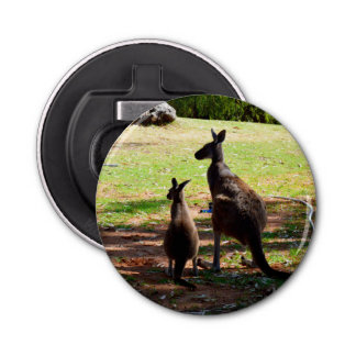 Canguro australiano @ Joey, abrebotellas magnético