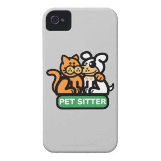 Canguro del mascota (gato y perro) iPhone 4 Case-Mate cárcasa