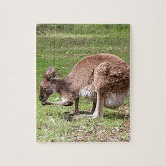 Canguro, interior Australia Puzzle