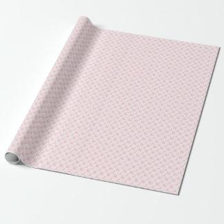 Caniches y controles rosados lindos papel de regalo