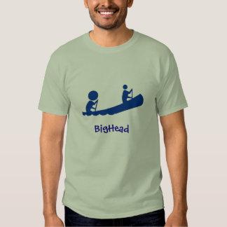 Canoa del azul del BigHead Camisetas