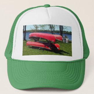 Canoas en un día soleado gorra de camionero