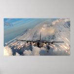 Cañonera de AC-130U Póster