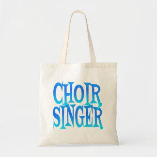Cantante del coro bolso de tela