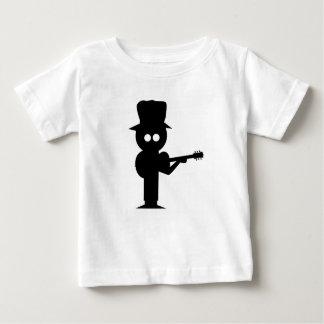 Cantante popular del muchacho camiseta de bebé