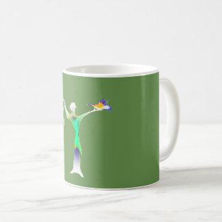 Cantante popular taza de café