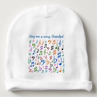 ¡Cánteme una canción, abuelo! Gorrito Para Bebe