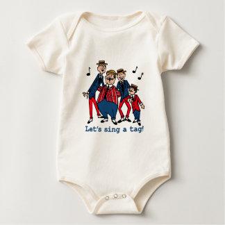 Cantemos una etiqueta body para bebé