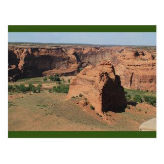 Canyon de Chelly Chinle Arizona pasa por alto la Postal