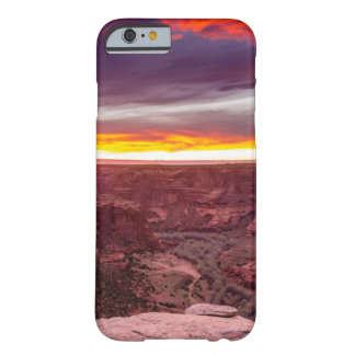 Canyon de Chelly, puesta del sol, Arizona Funda Barely There iPhone 6