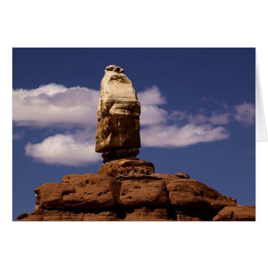 Canyonlands Papá Noel Tarjeta De Felicitación