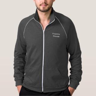 Capa deportiva de los hombres - logotipo del chaqueta