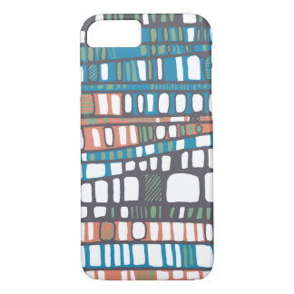 Capas en anaranjado y azul funda iPhone 7