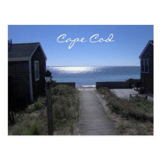 Cape Cod Massachusetts en la postal de la