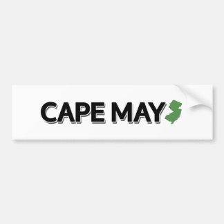 Cape May, New Jersey Pegatina Para Coche