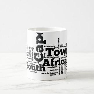 Cape Town, Suráfrica Taza