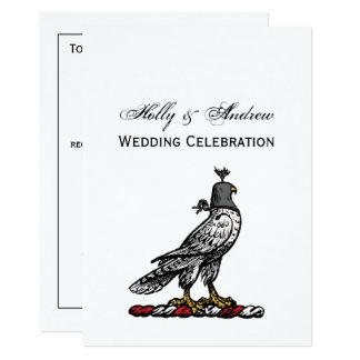 Capilla C del casco del halcón heráldico de la Invitación 12,7 X 17,8 Cm