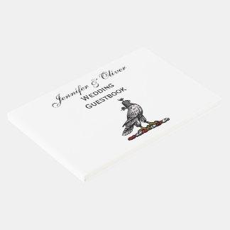 Capilla C del casco del halcón heráldico de la Libro De Visitas