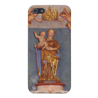 Capilla católica iPhone 5 cárcasa