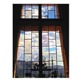 Capilla de la cruz santa (interior) postal