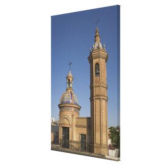 Capilla del Carmen, Sevilla, España Impresión De Lienzo