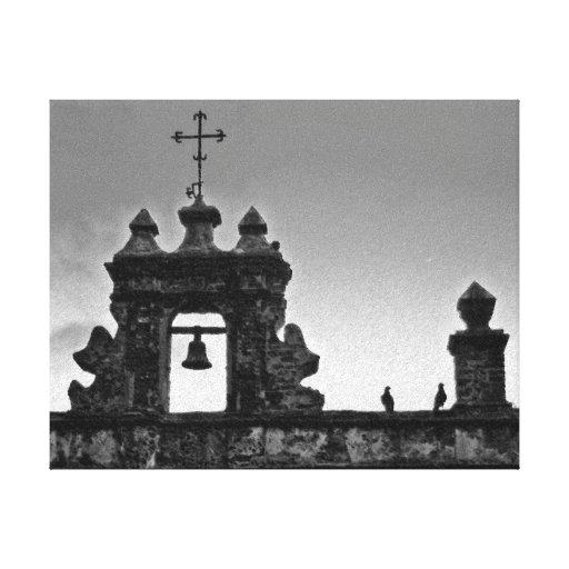 Capilla del Cristo en San Juan, Puerto Rico Impresiones En Lona Estiradas