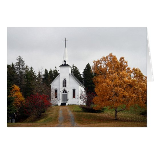 Capilla del país - otoño 2009 tarjeta pequeña