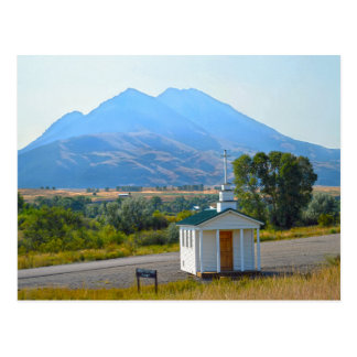 Capilla del valle del paraíso, Montana Postal